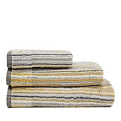 Home Collection - Grey striped towel