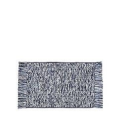 Home Collection - Blue woven bath mat