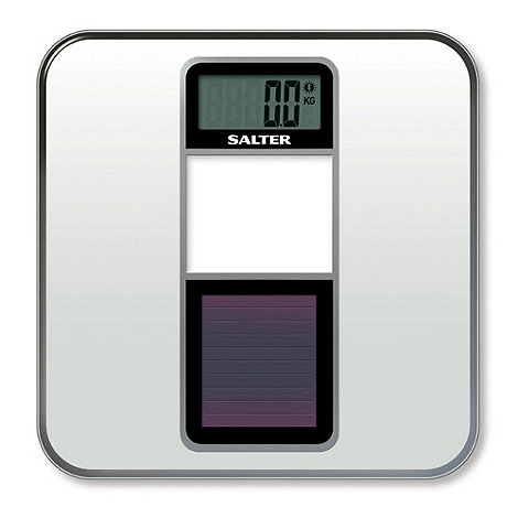 Salter - Silver sola powered eco scale