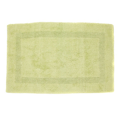 Debenhams - Lime luxury reversible bath mat