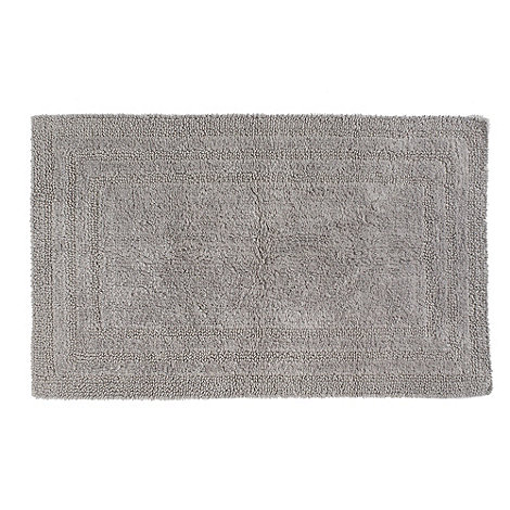 Home Collection - Silver luxury reversible bath mat