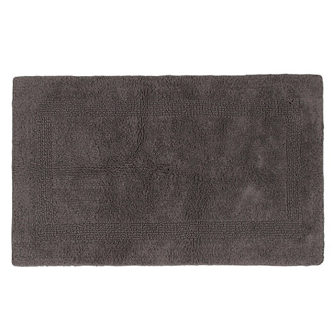 Home Collection - Grey luxury reversible bath mat