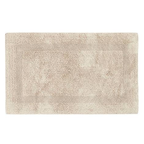 Home Collection - Taupe reversible bath mat