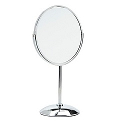 Debenhams - Silver large pedestal mirror