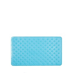 Debenhams - Blue non slip rubber bathmat