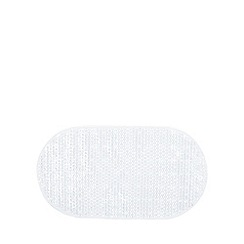 Debenhams - Clear non slip PVC bathmat