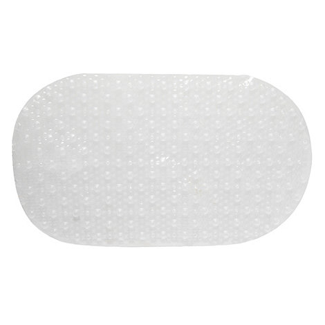 Home Collection - Clear textured PVC bath mat