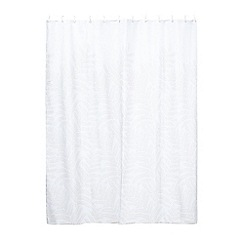 Home Collection - Natural 'Gustavian Fern' shower curtain