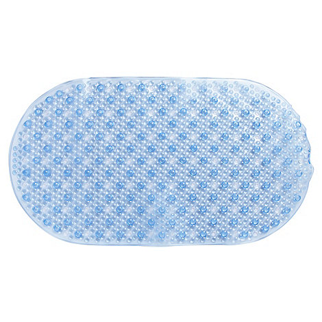 Home Collection - Blue bobble bath mat