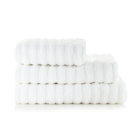J by Jasper Conran - White +Soho+ cotton towels