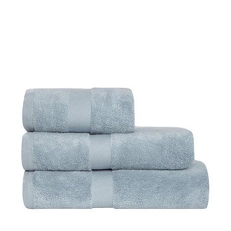 J by Jasper Conran - Aqua +Zero Twist+ Egyptian cotton towels