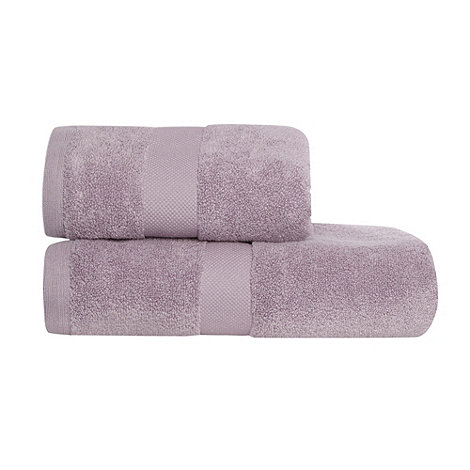 J by Jasper Conran - Lilac +Zero Twist+ Egyptian cotton towels