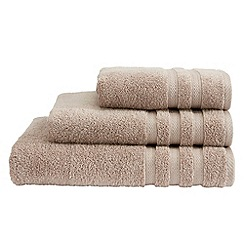 Christy - Beige cotton towels