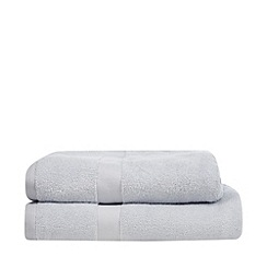 J by Jasper Conran - Designer blue zero twist cotton towel