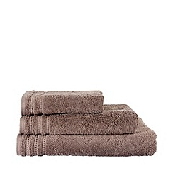 Christy - Christy taupe 'Soft & Always' towels