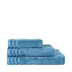 Christy - Christy blue 'Soft & Always' towels