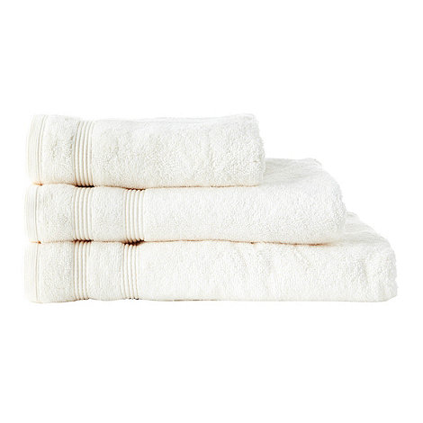 Christy - Cream +Hygro+ luxury cotton towels