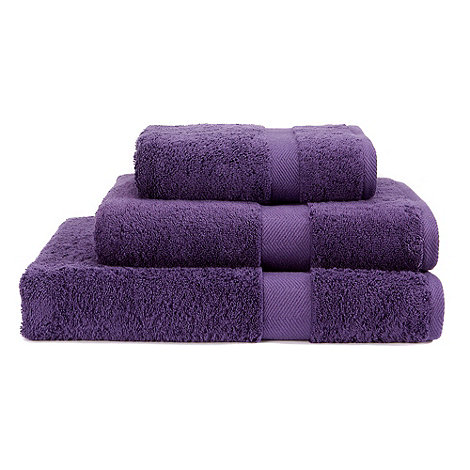 Christy - Purple Egyptian cotton towels