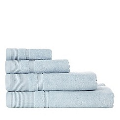 RJR.John Rocha - Light blue luxury cotton towels