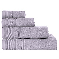 RJR.John Rocha - Lilac luxury cotton towels
