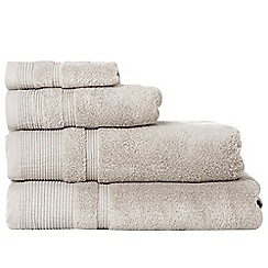 RJR.John Rocha - Beige luxury cotton towels