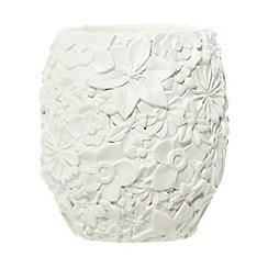 RJR.John Rocha - Designer cream floral tumbler