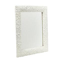 RJR.John Rocha - Designer cream floral mirror