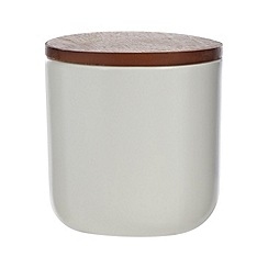 RJR.John Rocha - Designer ceramic and wood storage pot