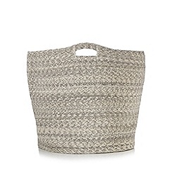 RJR.John Rocha - Designer light grey laundry basket