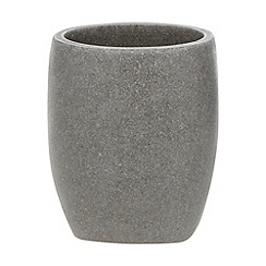 RJR.John Rocha - Light grey bathroom tumbler