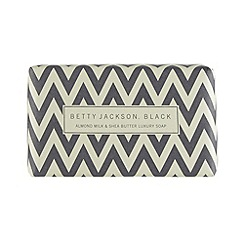 Betty Jackson.Black - Designer black chevron soap