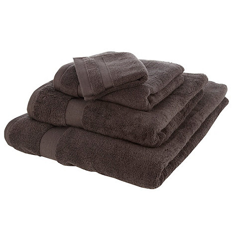 Betty Jackson.Black - Chocolate supremely soft towels