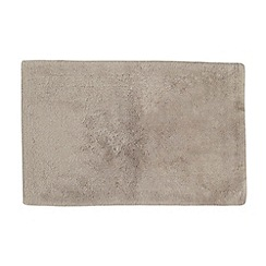 Betty Jackson.Black - Taupe 'Supremely Soft' bath mat
