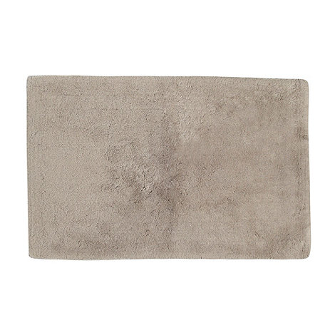 Betty Jackson.Black - Taupe +Supremely Soft+ bath mat