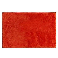 Betty Jackson.Black - Orange super soft bath mat