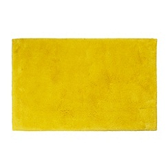 Betty Jackson.Black - Designer bright yellow bath mat