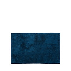 Betty Jackson.Black - Designer dark blue super soft bath mat