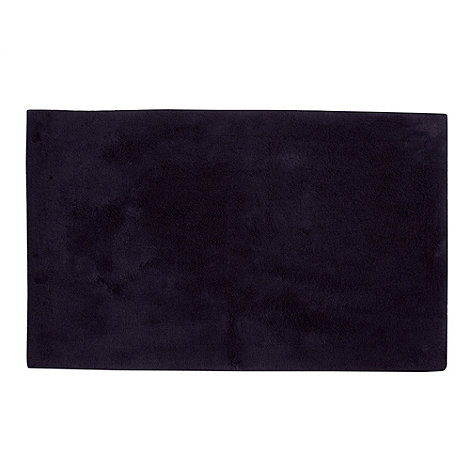 Betty Jackson.Black - Navy extra soft bath mat