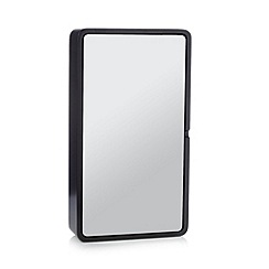 Betty Jackson.Black - Designer black wooden cabinet mirror