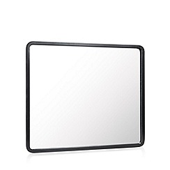 Betty Jackson.Black - Designer black wooden mirror