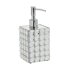 Star by Julien MacDonald - Designer faceted jewel soap dispenser
