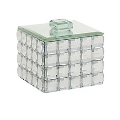 Star by Julien MacDonald - Designer glass faceted jewel storage box