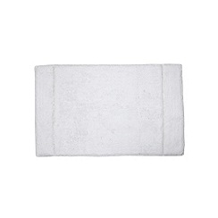 Star by Julien Macdonald - Designer white diamante bathmat