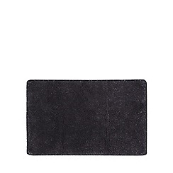 Star by Julien MacDonald - Dark grey glitter bath mat