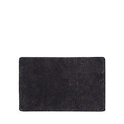 Star by Julien MacDonald - Dark grey glitter bath mat