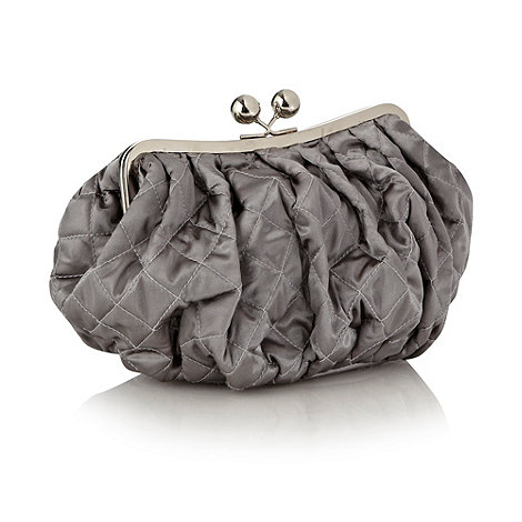 Star by Julien Macdonald - Silver quilted toiletry bag