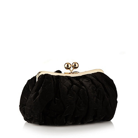Star by Julien Macdonald - Designer black quilted wash bag