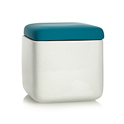 Ben de Lisi Home - Designer ceramic colour pop storage pot