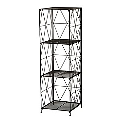 Ben de Lisi Home - Designer black three tier storage shelf