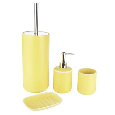Yellow bathroom accessories for Yellow bathroom decor